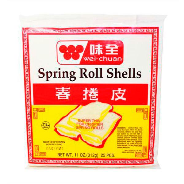 spring rolls de vegetales