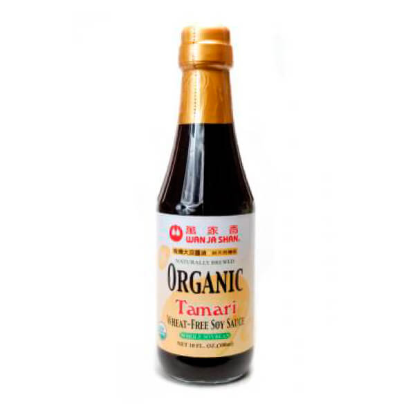salsa de soya tamari lite