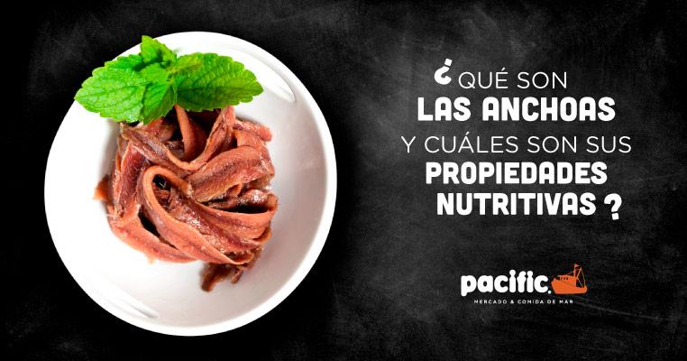 propiedades nutricionales de las anchoas