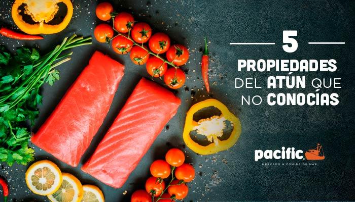 5 propiedades del atún que no conocías